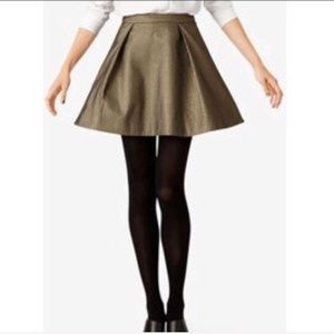 Kate Spade Saturday Metallic Skirt